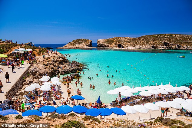 Malta is thought to be one of the places on the Green List where travellers can visit from May 17