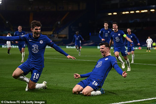 Chelsea earned their place in the Champions League final as Mason Mount scored at home