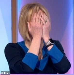 Shock: Nadia left her co-stars Kaye Adams, pictured, and Frankie Bridge in shock as she said: 'To be honest, sometimes on This Morning you are so grumpy... you're just miserable sometimes.'