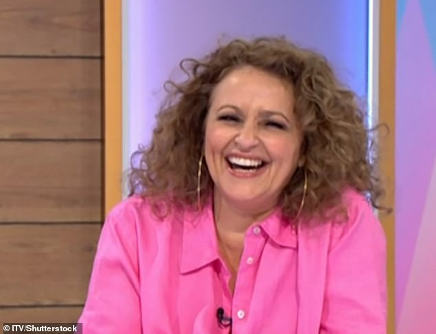 Cheeky!Nadia Sawalha shocked her Loose Women co-stars on Friday's show after she cheekily asked James Martin why he can be 'so grumpy' on This Morning