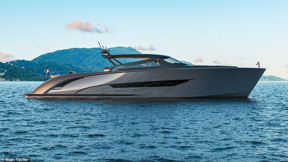 Anchors prevail!  Tom Brady added to his impressive collection of awards with the purchase of a stunning $ 6 million Wajer yacht