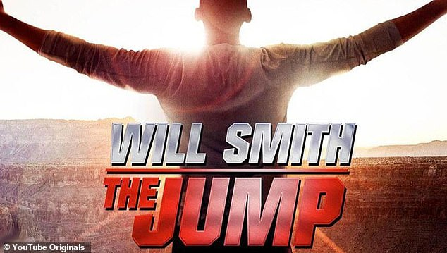 Big hit: The actor's previous YouTube show, titled Will Smith: The Jump, received millions of views within 48 hours of release