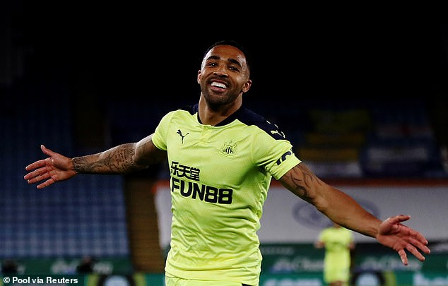 Callum Wilson scored a second-half brace as the visitors tore Leicester apart on the counter