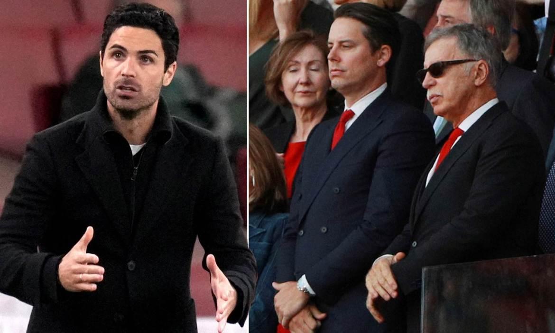Arsenal back Mikel Arteta despite Europa League exit as Kroenkes sanction summer  spending spree | Daily Mail Online