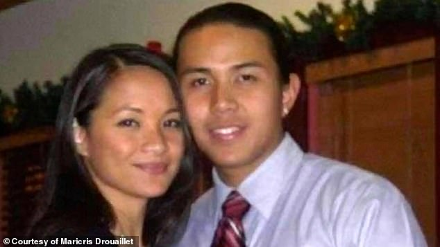 Maya Millete (pictured with her husband Larry) went missing on January 7
