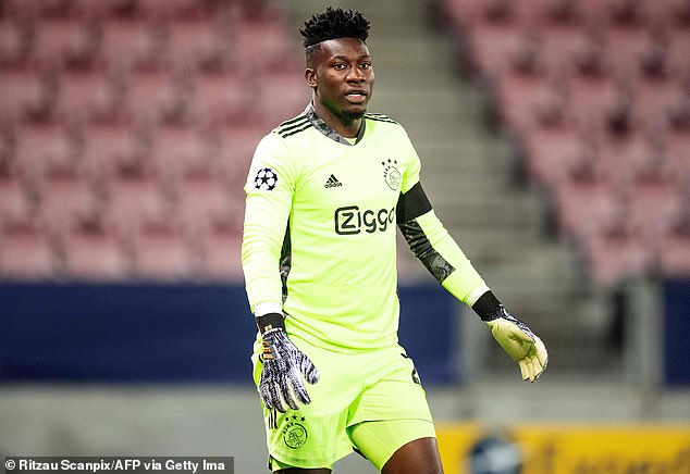 Arsenal are reportedly tracking Andre Onana and could make a bid if his CAS appeal succeeds