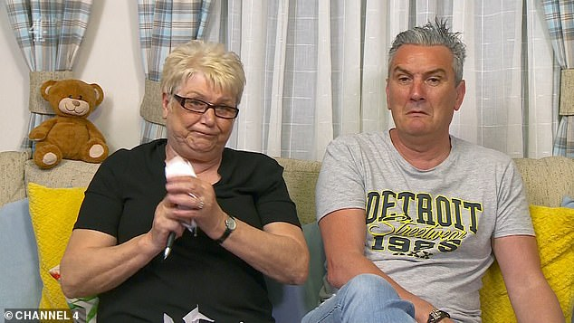 Hilarious:Gogglebox's Jenny Newby was left angrily tearing up her notes on Friday's episode after watching the 'disappointing' series six finale of Line Of Duty