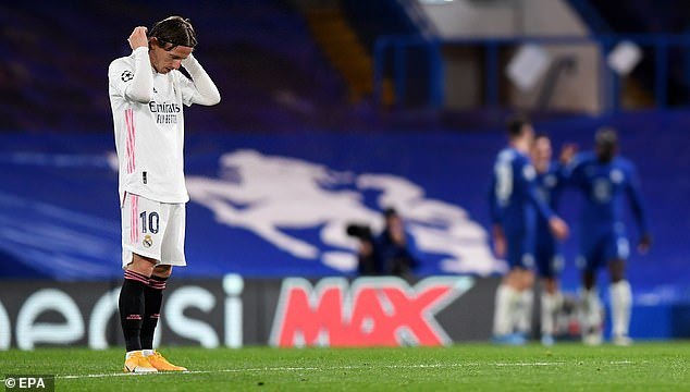 Real were second best to Chelsea over the two legs and ultimately lost 3-1 on aggregate
