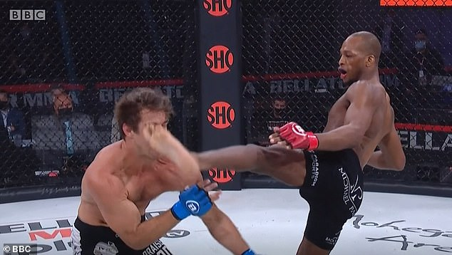 Michael Venom Page inflicted a gruesome knockout on Derek Anderson at Bellator 258