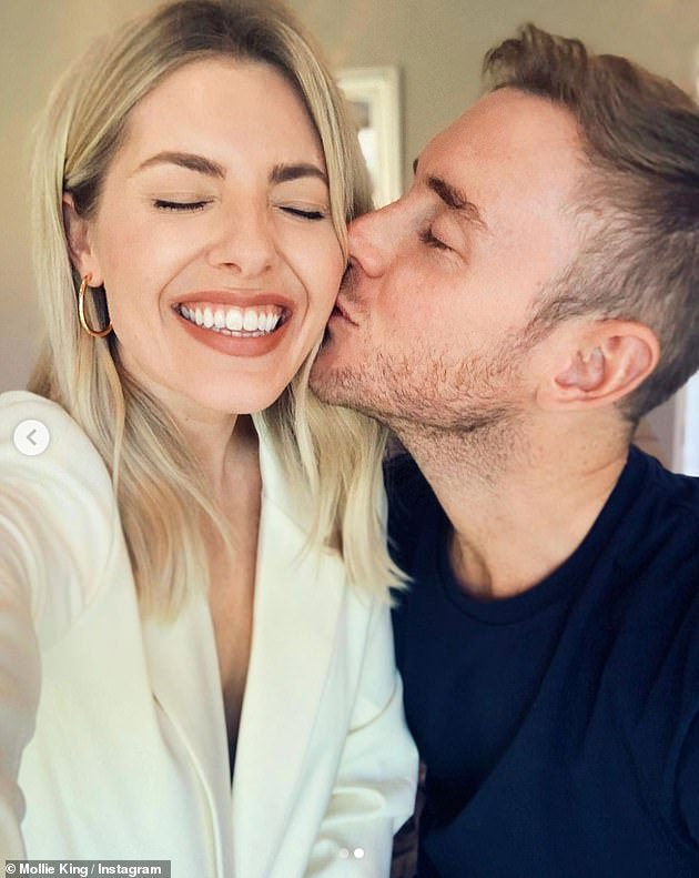 Happy news:  Mollie announced her engagement to cricketer Stuart Broad on New Year's Day