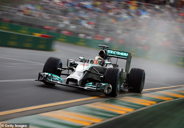 Hamilton has been a constant feature near the front of the grid for Mercedes, pictured taking pole position at the Australian Grand Prix in 2014