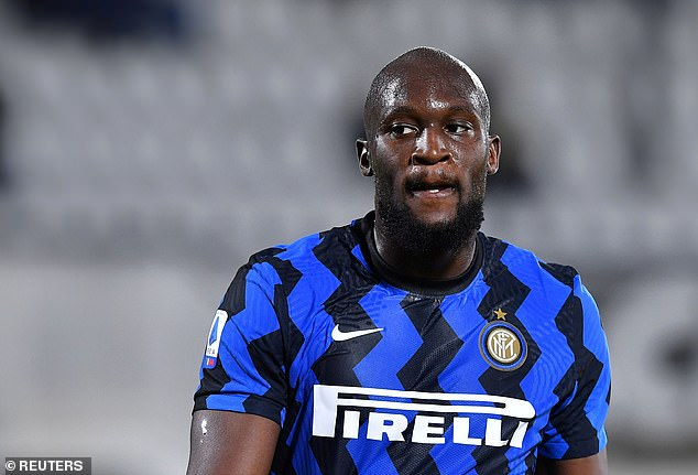 Ashley Young says he can't 'understand' why United sold Romelu Lukaku (above) in 2019