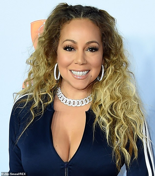 Viral: The Tweet came after a mini viral campaign developed to turn the remix into a legally licensed song.  As a mother, Mariah (here in 2017) may not have liked the message of the new track too much, which replaces the title as a reference to let out gunshots.