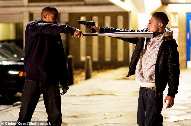 Denial: Clarke (pictured with Adam Deacon on Adulthood) denies any allegations of sexual misconduct, criminal wrongdoing or sexually inappropriate behaviour