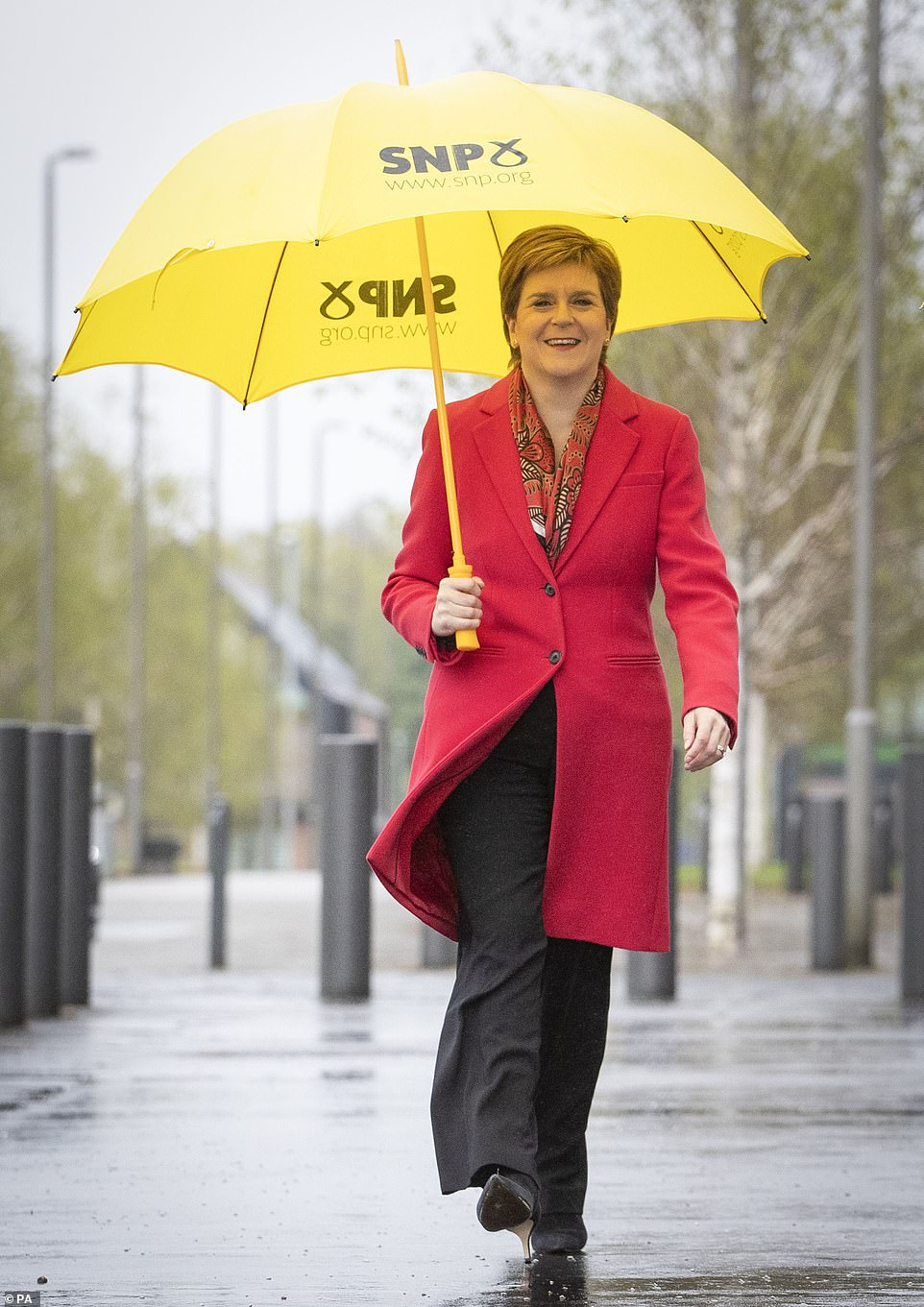 The SNP eventually secured 64 seats. The Conservatives won 31, with 22 to Labour, the Greens on 8 and the Lib Dems on 4. Alex Salmond¿s new Alba party failed to win a seat