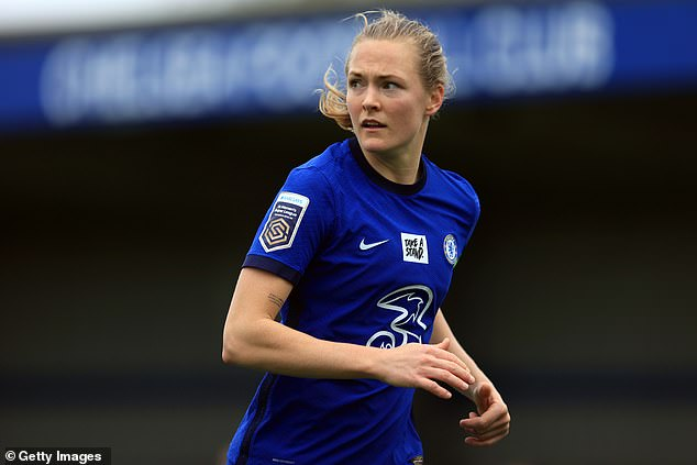 Chelsea's Magda Eriksson has talked of her pride the Blues winning a potential quadruple