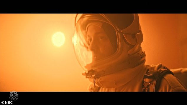 Following: When Miley told him that she was pregnant and that he was the father, Chad said `` No thanks '' and sealed the airlock, preferring the Martian environment to fatherhood.