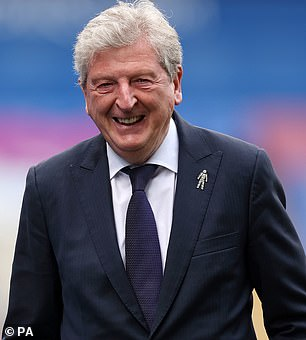 Eagles boss Roy Hodgson says Eze will stay at the club