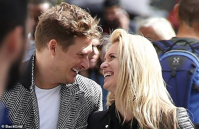 Pals: The Ukrainian star also enjoyed a close relationship with Blue lothario Lee Ryan during their joint appearance on the show in 2018