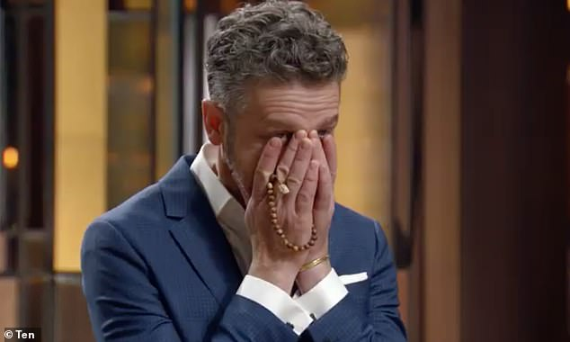 'What are you doing?'  MasterChef judges were shocked after the medical student made a major mistake during a tense challenge on Sunday night.  Pictured: Jock Zonfrillo