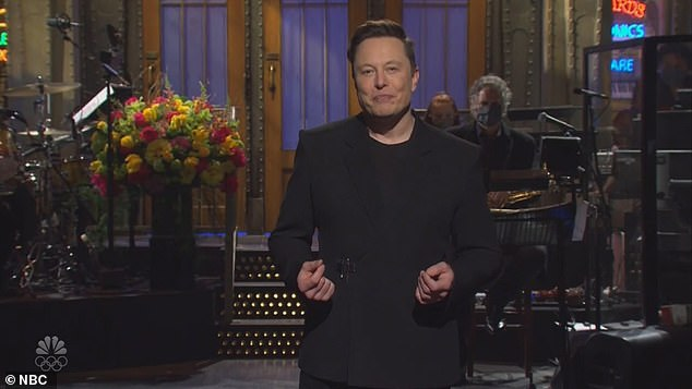 Musk poked fun at his own eccentricities and revealed that he has 'Asperger's' during his monologue on Saturday Night Live