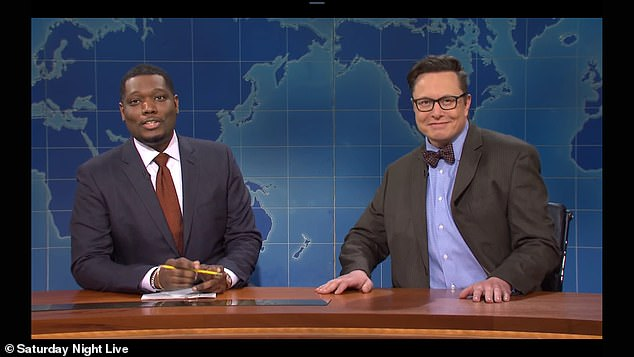 Weekend Update host Michal Che attempted to learn about cryptocurrency from Elon Musk's character, 'financial expert Lloyd Ostertag', by repeatedly asking: 'what is Dogecoin'
