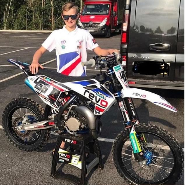 Ollie Colmer is hoping to take part in the Motocross World Championship later this year