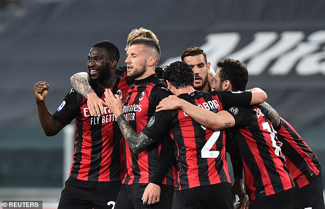 AC Milan beat Juventus 3-0 in a massive win in the race for Champions League qualification