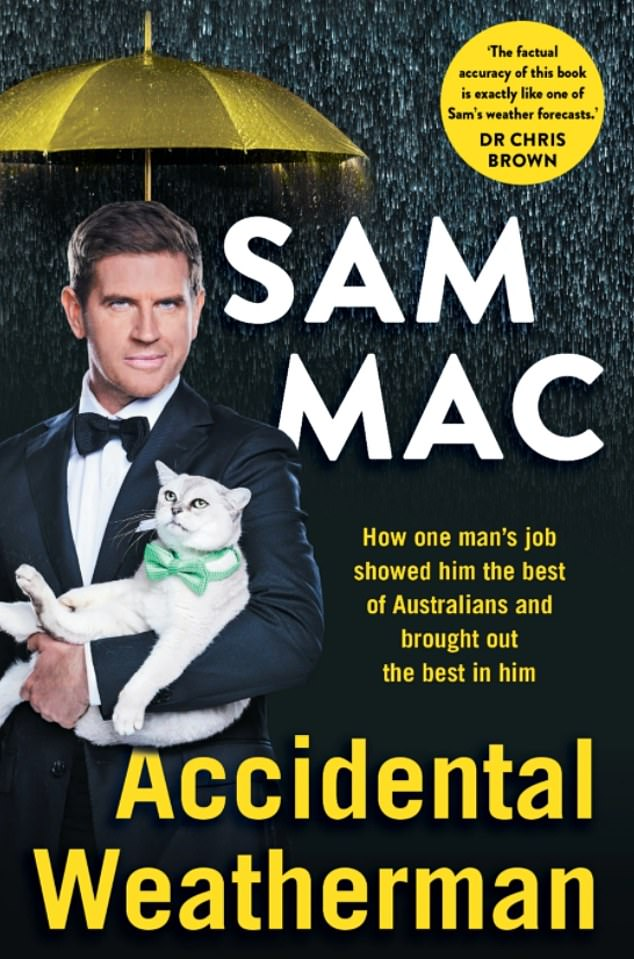 Important: Sam devoted a chapter to mental health in his new autobiography, Accidental Weatherman, and said it was `` the most difficult chapter to write, but the most important ''