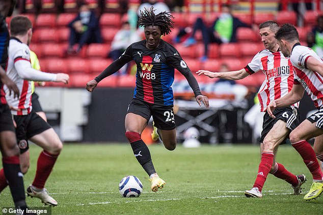 Eberechi Eze ran the game against Sheffield United who had no answer for his dribbling
