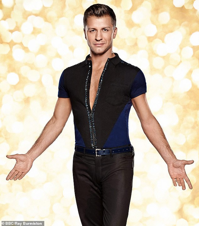 Professional ballroom dancer, Pasha Kovalev (pictured), 41, spent eight years on Strictly Come Dancing, which he won in 2014 with the late British TV presenter Caroline Flack