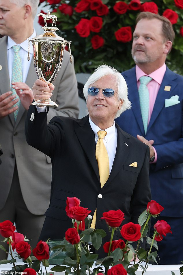 Baffert has been immediately suspended from entering any more horses at Churchill Downs