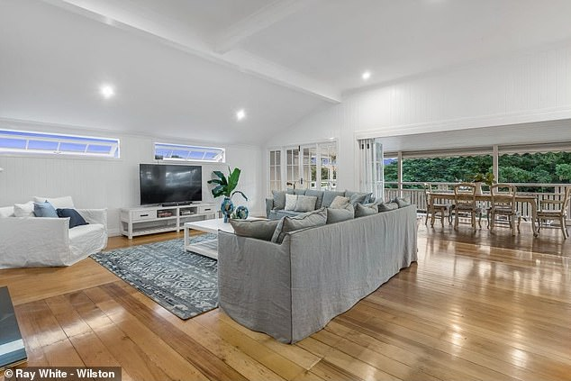 Sad farewell: Greg has a special connection to the home, having spent two decades personally renovating it and raising his two children there