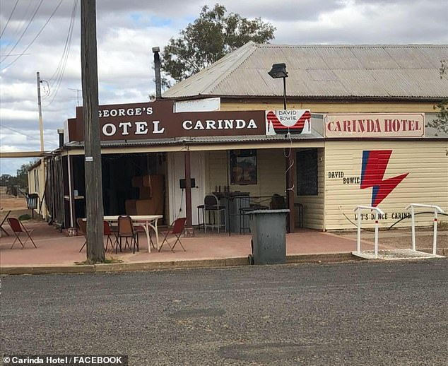 The Carinda Hotel now celebrates their famous encounter with Bowie every year holding a festival in his honour