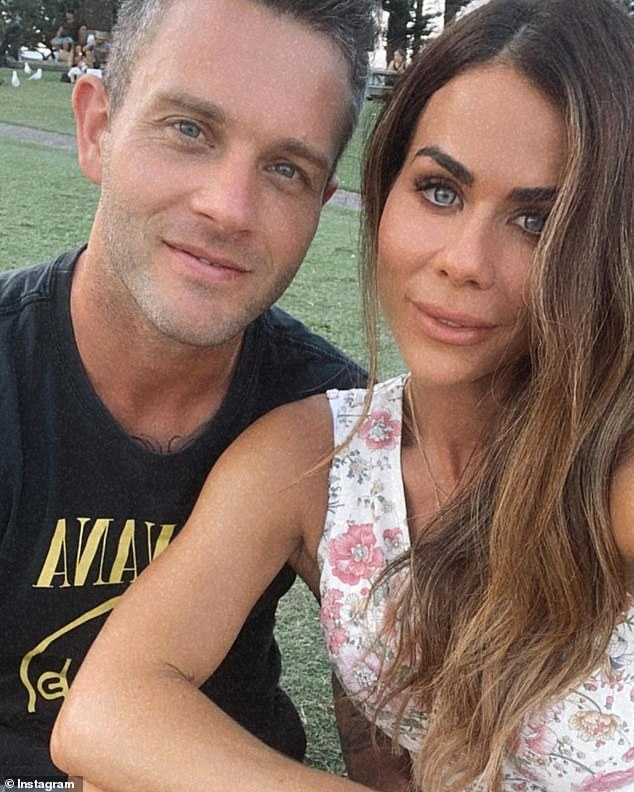 Happy in love! Married At First Sight groom Jake Edwards, 33, (left) has revealed plans to permanently relocate to the Gold Coast to be with his girlfriend Sophie Guidolin (right)