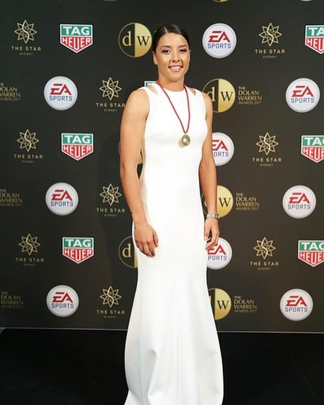 Sam Kerr (pictured) scored a goal and assisted in three others in Chelsea's big win on Sunday