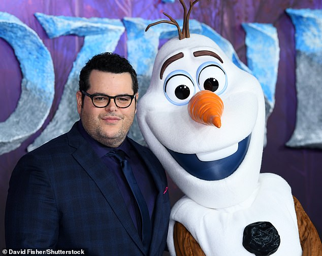 Iconic role: Josh voiced the character of Olaf the Snowman in Disney's Frozen franchise