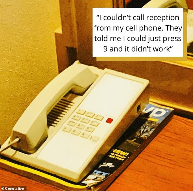 One person tried a hotel phone shortcut on their cellphone, and complained when it didn't work