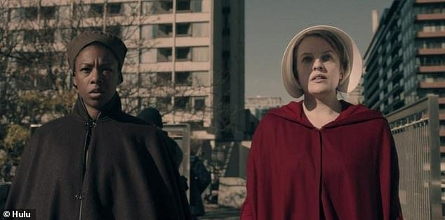 Her latest show: Seen on the left in the The Handmaid's Tale (2017) with Elisabeth Moss