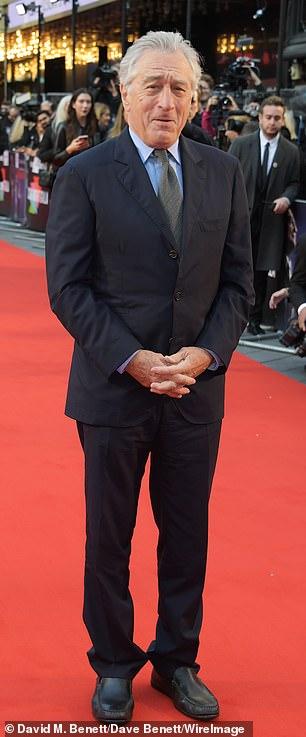 Robert DeNiro pictured in 2019