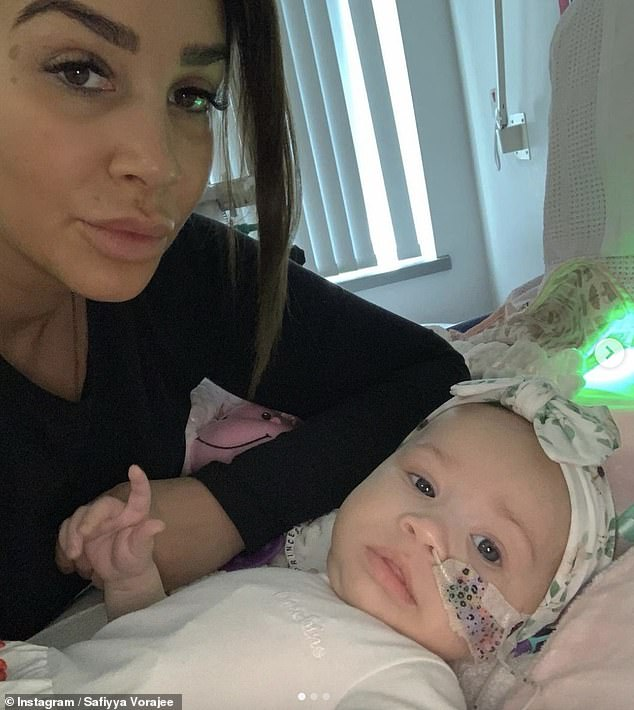 Family:Ashley Cain and his partner Safiyya Vorajee have posted sweet clips of rainbows in the sky, saying they're 'beautiful signs' from their late daughter Azaylia