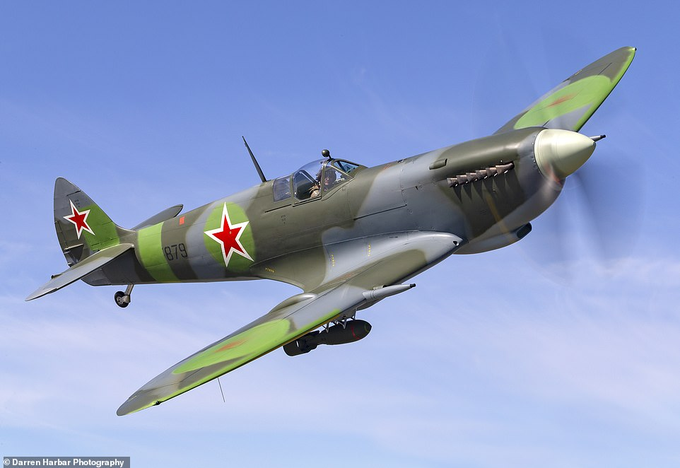 Wrecked in Russia in 1945 after being loaned to the Red Army, Spitfire has  £2million makeover – Dinestle News UK