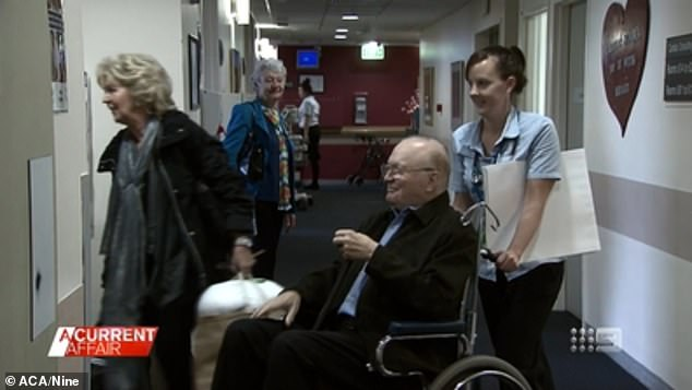 'I have never seen anybody in more pain': Entertainment legend Bert Newton was experiencing unbearable pain from his infected toe before doctors amputated his leg on Saturday