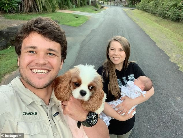 New addition:Bindi and her husband Chandler Powell welcomed daughter Grace Warrior Irwin Powell on March 25. The baby was born on their first wedding anniversary