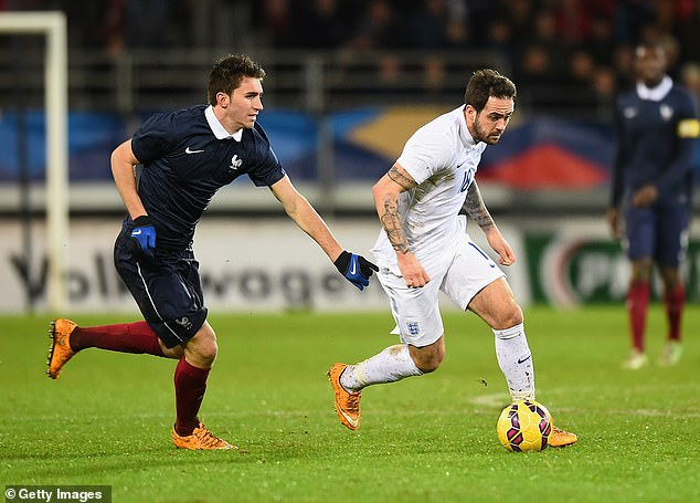 Laporte (left) made 51 appearances for France at youth level but never made a senior team appearance despite being called up four times