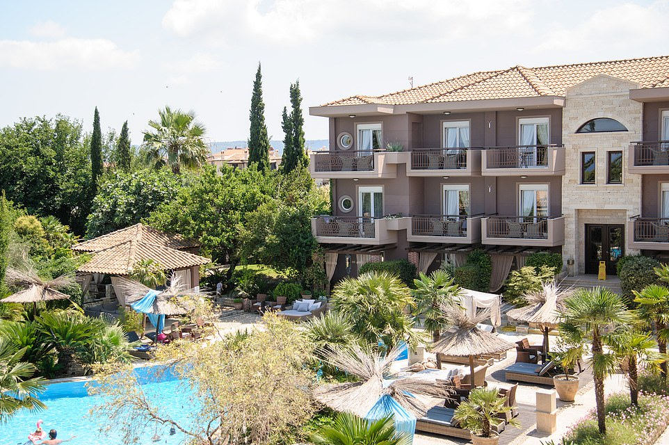 Fifth place in the top hotels in the world category is Achtis Hotel in Greece, pictured