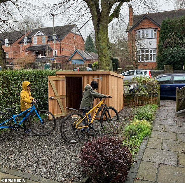 Kavi and Mita Pujara are in a 'David vs Goliath' battle with Leicester City Council over the small structure they erected outside their Stoneygate Road home