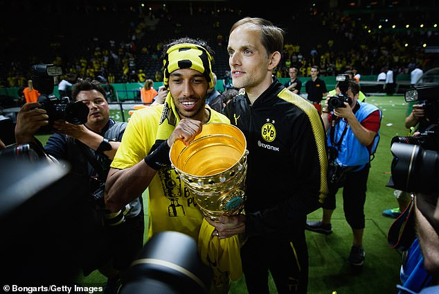 Tuchel and Aubameyang enjoyed a fruitful period together while at Borussia Dortmund