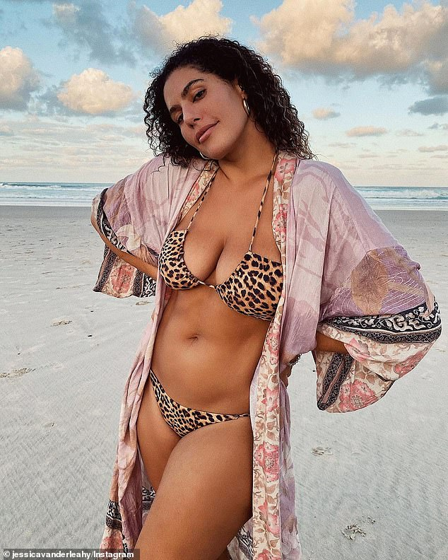 Coming soon:Rumoured stars believed to be joining the line-up include Bachelorette star Nathan Favro, Love Island hunk Elias Chigros, model Jessica Vander Leahy(pictured), and Zac Efron's ex-girlfriend Vanessa Valladares