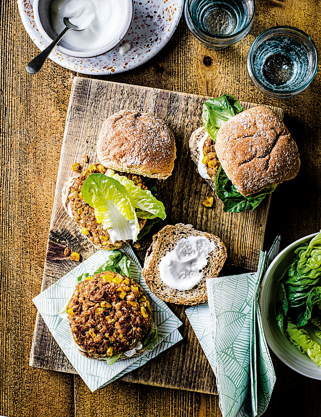 Our fabulous exclusive WW series to help you lose up to a stone in time to enjoy the freedoms of summer after lockdown, we're sharing inspiring and delicious recipes for the great British barbecue that won't leave you counting the cost on your bathroom scales like these smokey bean and barley burgers (pictured)